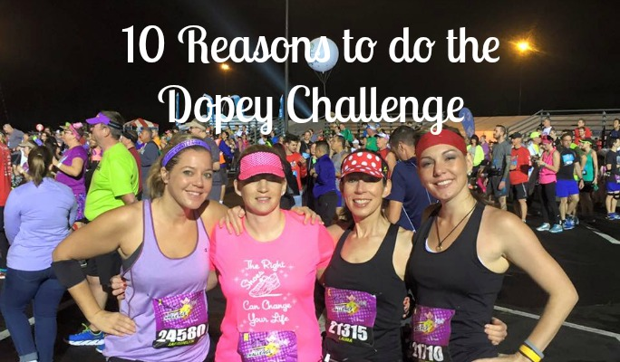 Ten Reasons to do the Dopey Challenge during the WDW Marathon Weekend