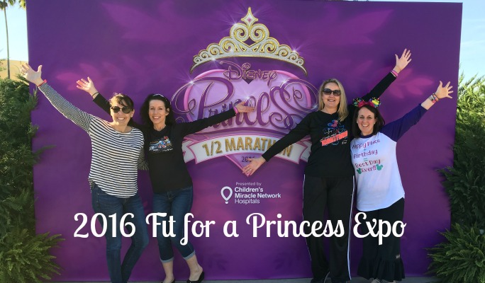2016 Disney Fit for a Princess Expo Recap