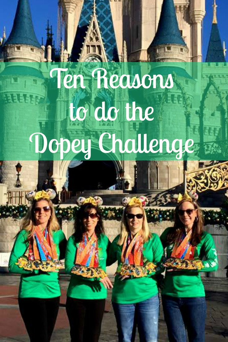 10 Reasons to do the Dopey Challenge