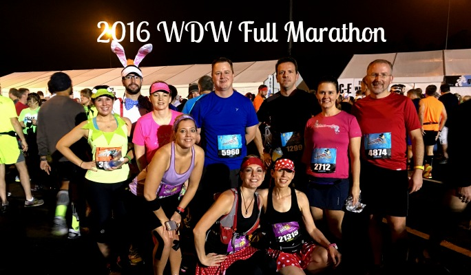 2016 Walt Disney World Full Marathon Race Recap