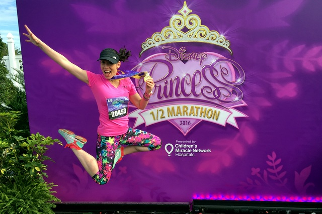 2016 Disney Princess Half Marathon #joyfuljumpshot