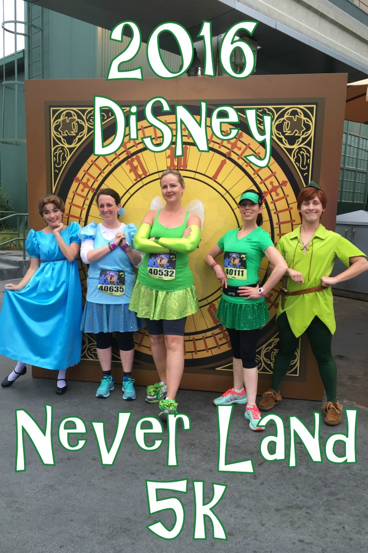 2016 Disney Never Land 5k Race Recap