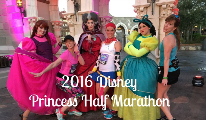 2016 Disney Princess Half Marathon - tutus, tiaras, and sparkle, oh my!