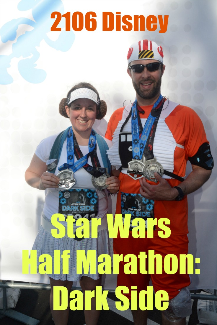 2106 Disney Star Wars Half Marathon Weekend: Dark Side