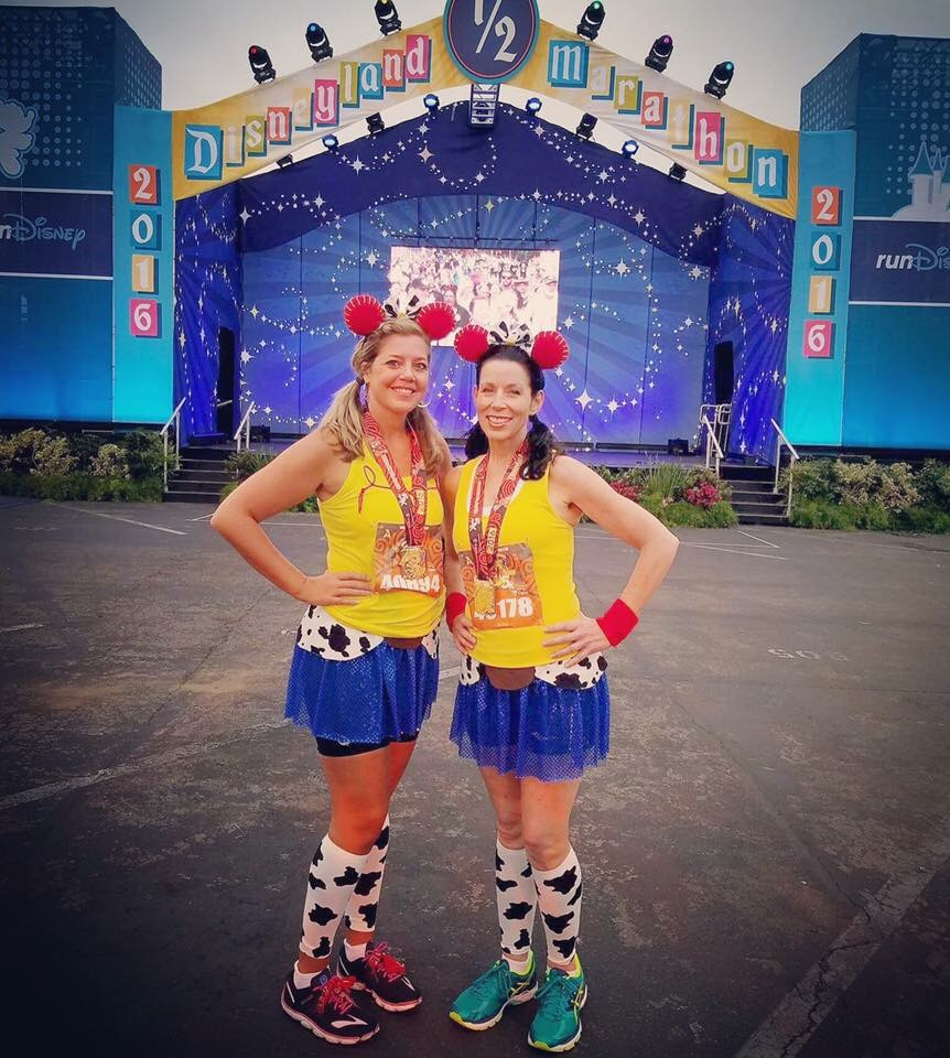My Favorite Running Customes from runDisney races!