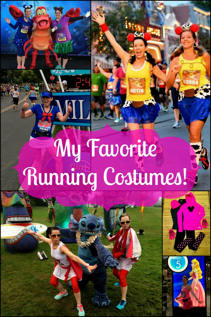 My Favorite Running Costumes for runDisney Races