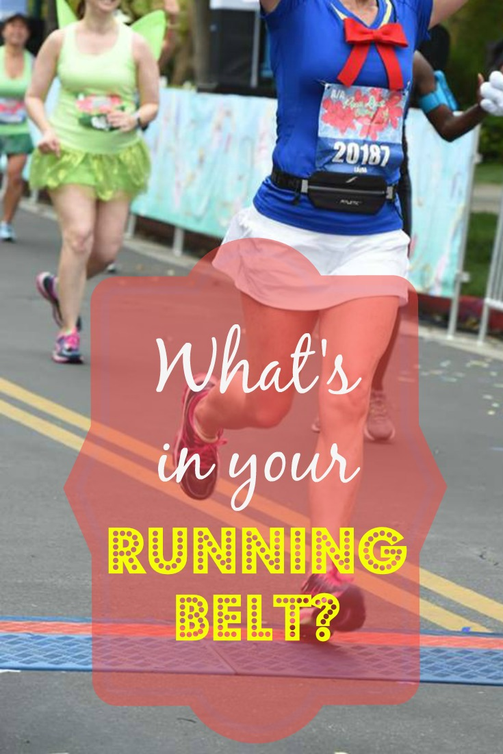 What's in Your Running Belt? Here's what's in mine.