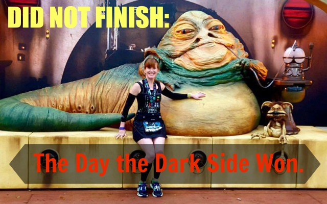 A Did Not Finish Runner's Tale: The Day the Dark Side Won
