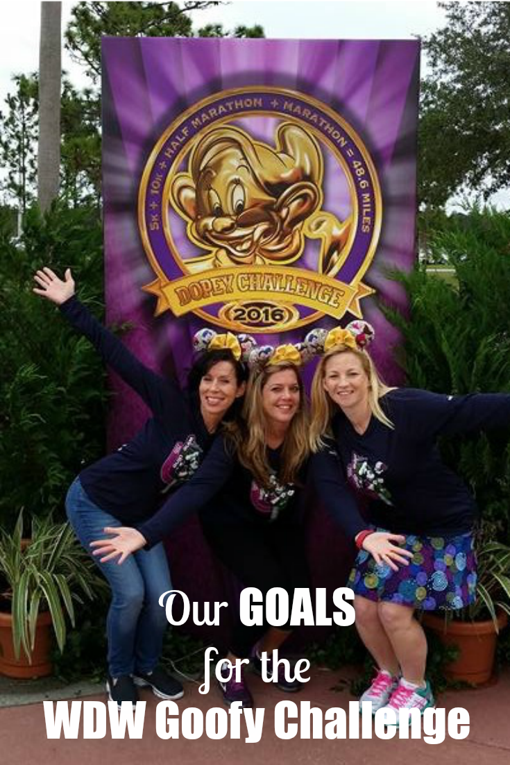 Accountability Quest: Our Goals for the WDW Goofy Challenge