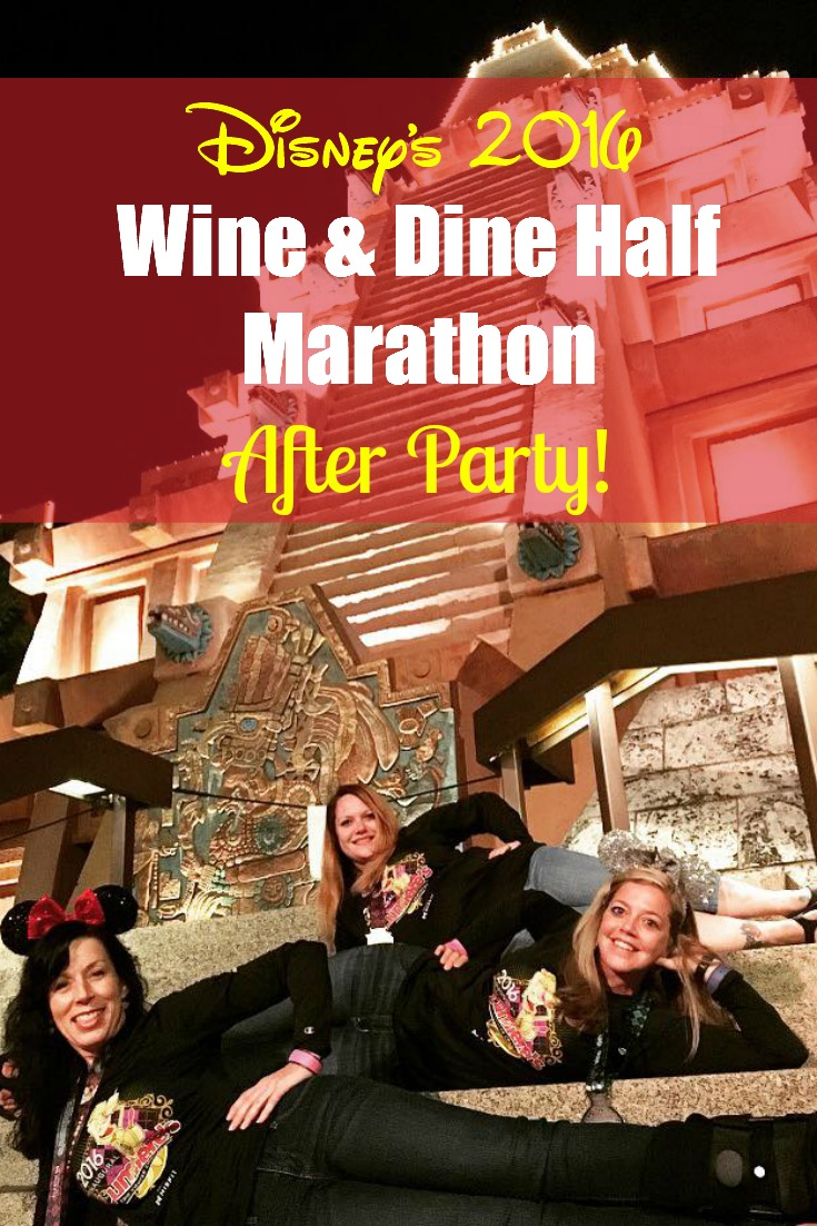 Disney's Wine & Dine Half Marathon 2016 After Party