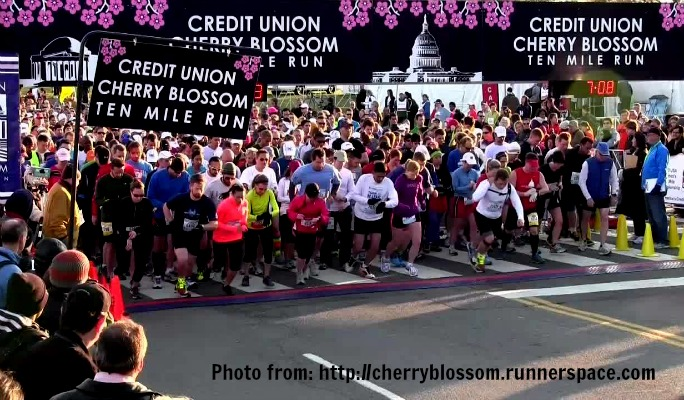 2017 Cherry Blossom 10-Miler, we are IN!