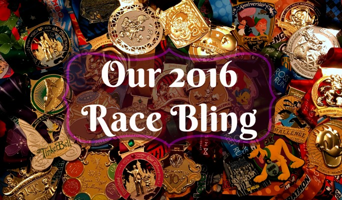 Our 2016 Race Bling | Tuesdays on the Run