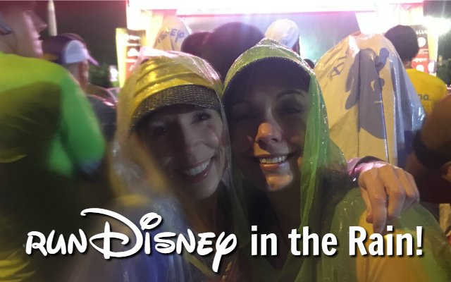 runDisney in the Rain: Running in the Rain tips!
