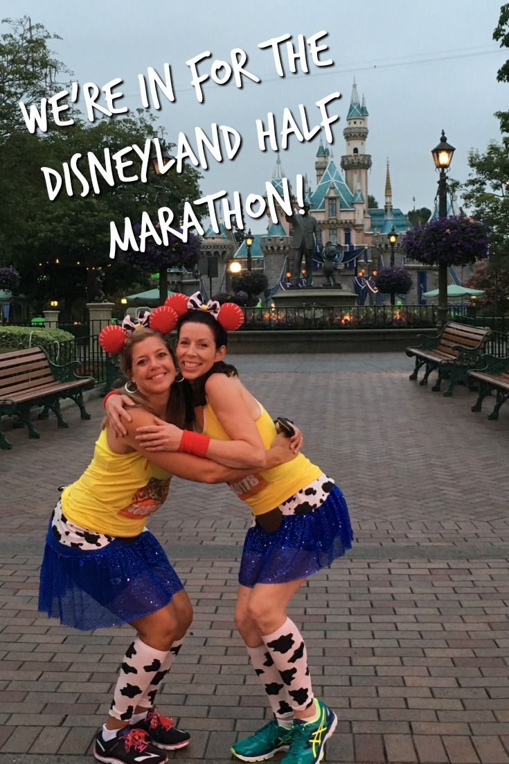 We're IN for the Disneyland Half Marathon!