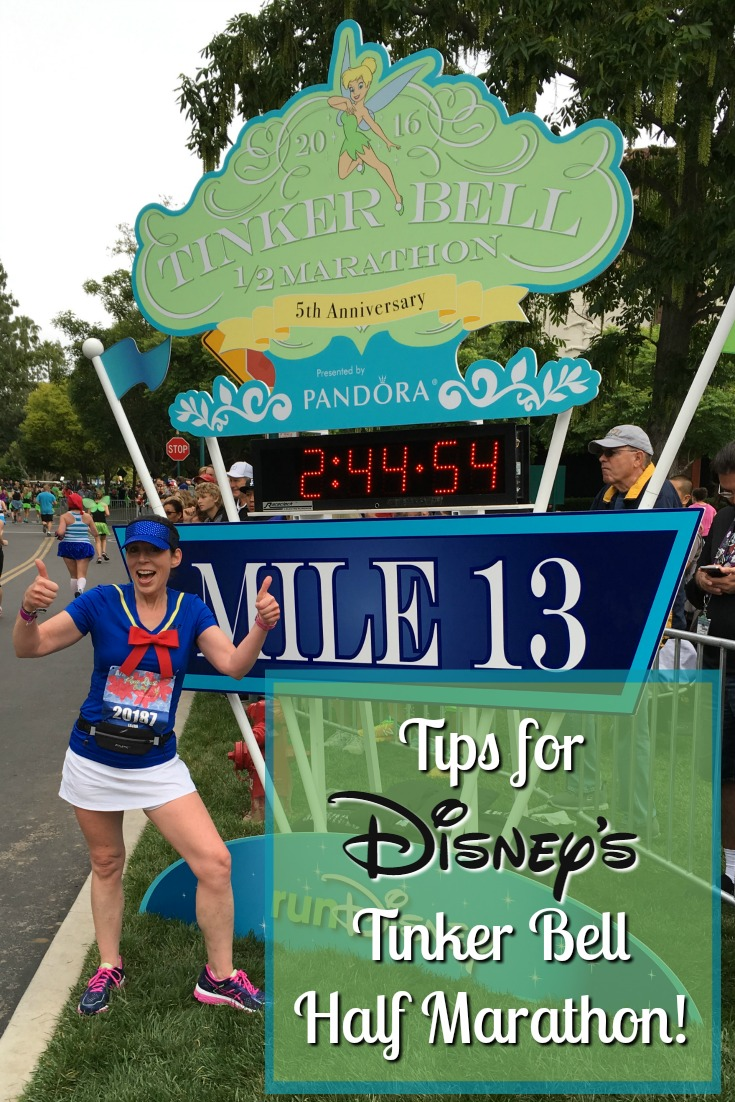 Tips for runDisney's Tinker Bell Half Marathon Weekend!