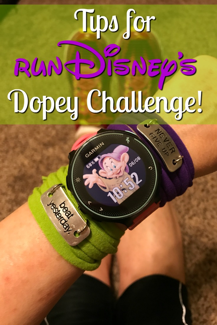 Pre-Training Tips for runDisney's Dopey Challenge!