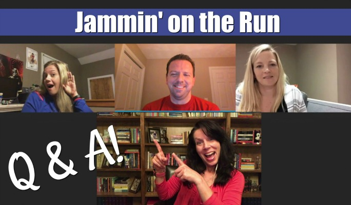 Jammin' on the Run Questions and Answers