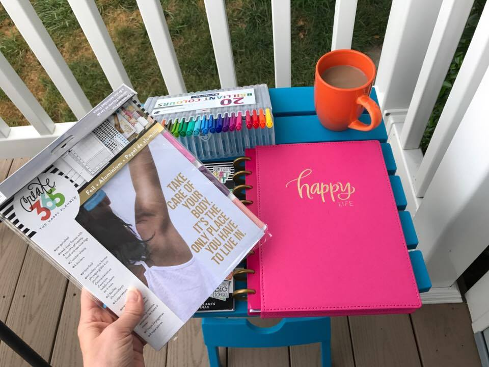 Happy Planner for the Dopey Challenge