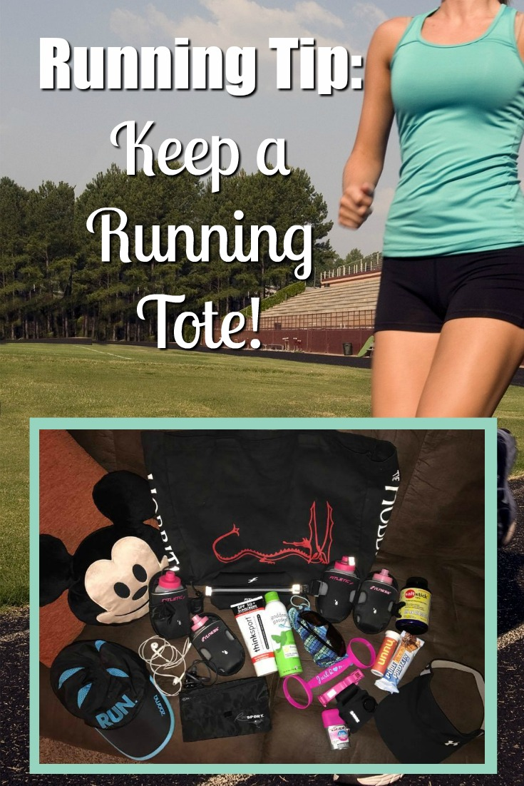 Running Tip: Keep a Running Tote!