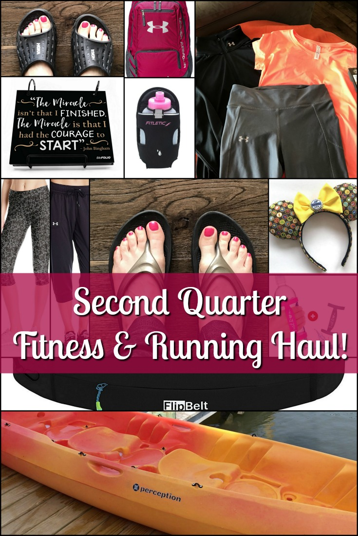 Second Quarter Fitness & Running Haul!
