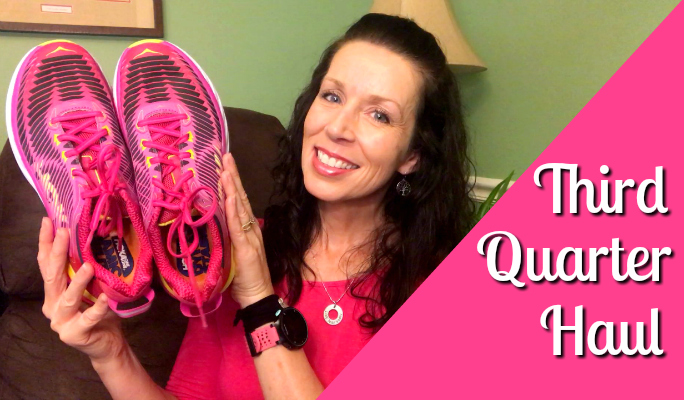Third Quarter Fitness and Running Haul