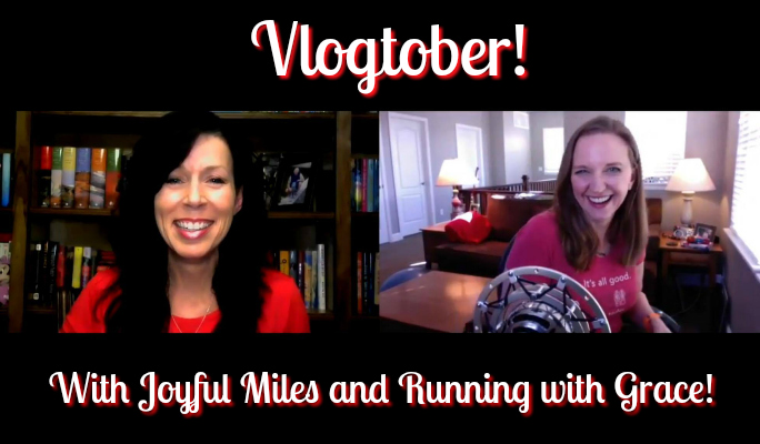 Vlogtober Day 1: Running with Grace and Joyful Miles!