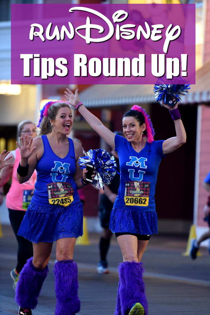 runDisney Tips Round Up: Everything You Need to Know about Running at Disney!