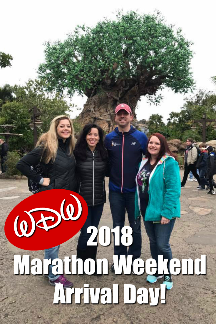 2018 WDW Marathon Weekend: Arrival Day
