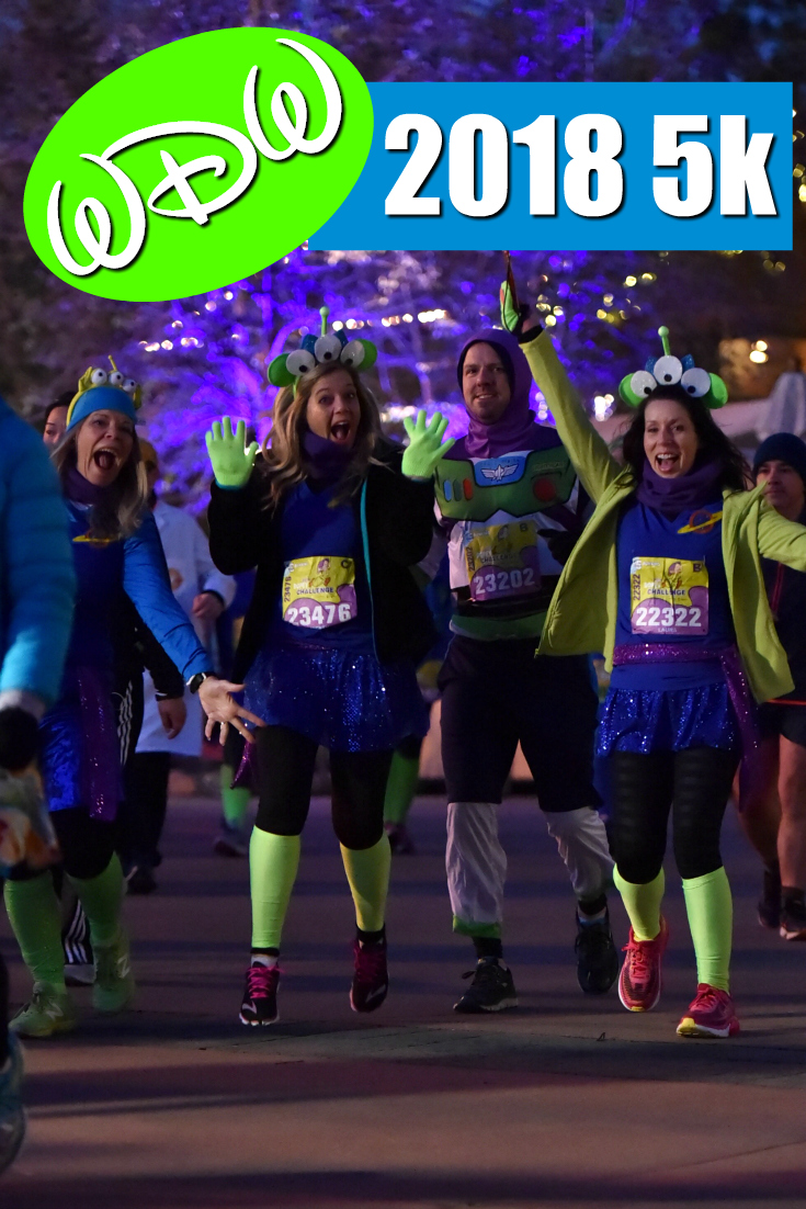 runDisney's 2018 WDW Marathon Weekend: The 5k, Day 1 of the Dopey Challenge!