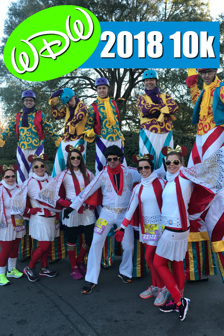 runDisney's 2018 WDW Marathon Weekend: The WDW 10k, Day 2 of the Dopey Challenge
