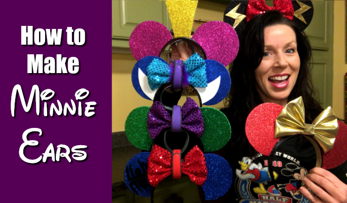 how to make minnie mouse ears