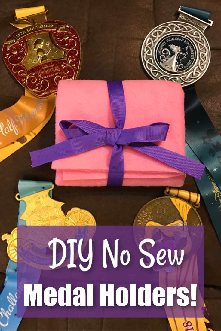 DIY No Sew Medal Holders!
