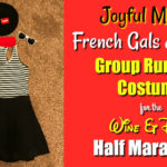 French Gals & Guys Group Running Costumes: Joyful Miles