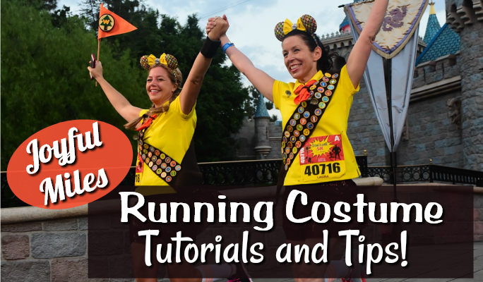 Running Costume Tutorials and Tips!