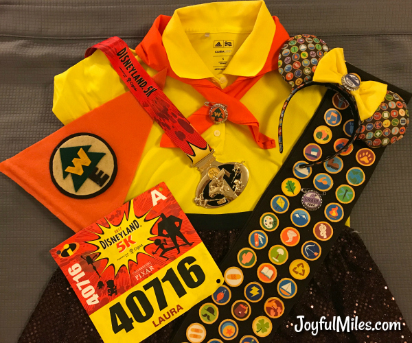 How to Make a Wilderness Explorer Russell Running Costume