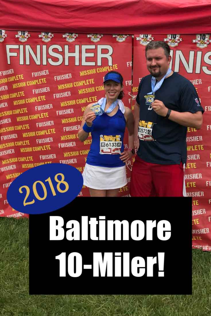 2018 Baltimore 10-Miler: Part 2 of the King Crab Challenge!