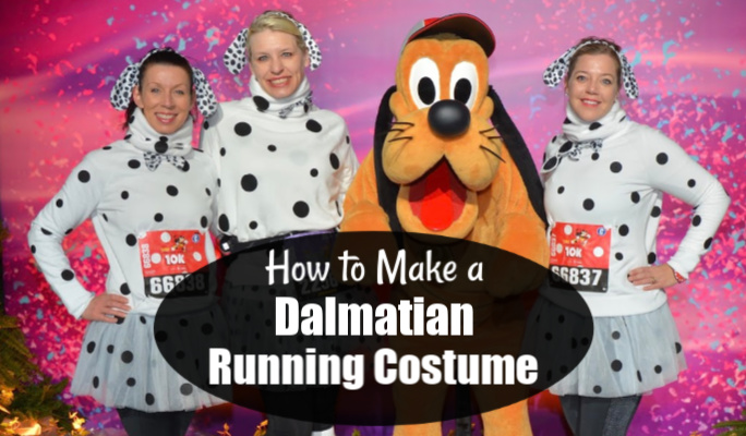 How to Make a Dalmatian Running Costume!