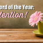 Intention: My 2019 Word of the Year